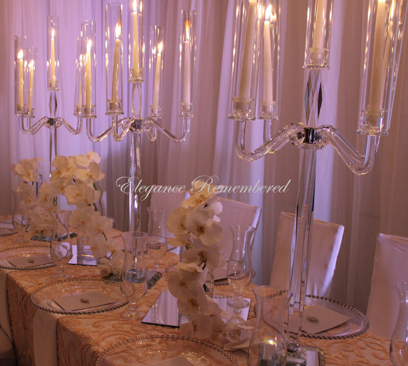 Crystal Candelabra Centerpieces For Rent 425yedbrothers