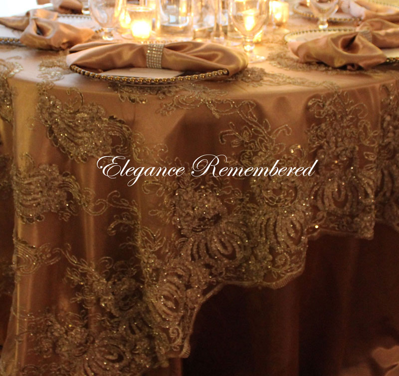 Gold Tablecloth Overlay Amp Rp79 Advancedmassagebysara